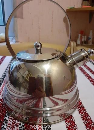 Чайник з свистком  berghoff