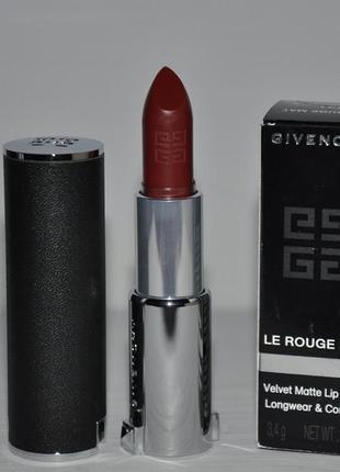 Помада для губ givenchy le rouge mat тон  pourpre defile №331
