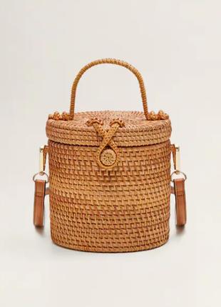 Бамбуковая сумка mango