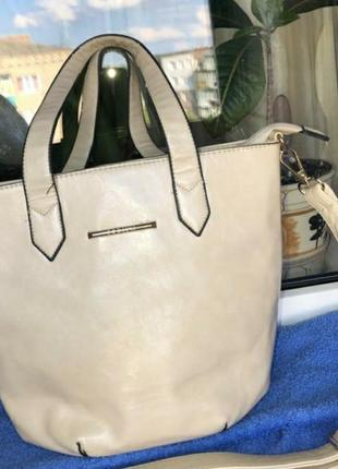 Удобная сумка для прогулок еко кожа