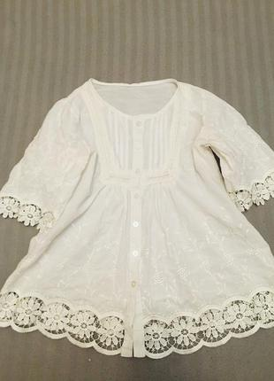 Белоснежная блуза