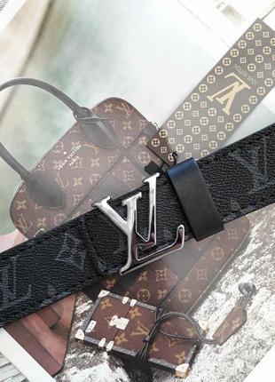 Ремень женский кожаный в стиле louis vuitton / ремінь пояс