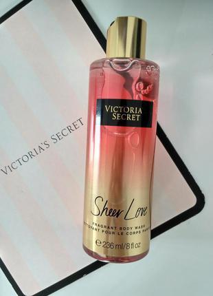 Акция! парфюмированые гели для душа victoria's secret со скидкой. оригинал. сша