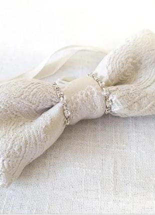 Дизайнерские галстуки - бабочки со стразами и без эксклюзив
