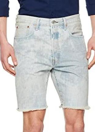 Шорты с новой коллекции levi's ® men's 501 ct shorts blue