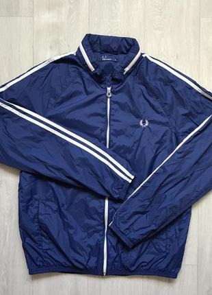 Курточка-ветровка fred perry размер м куртка курточка ветровка