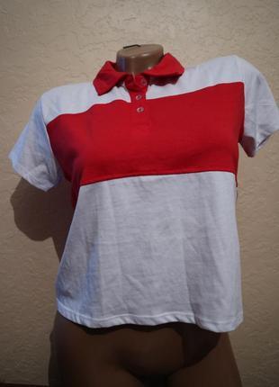 Короткая футболка-топ fb sister размер s