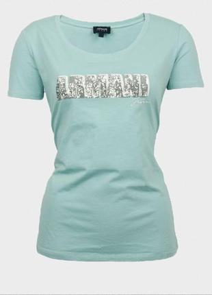 Футболка от аrmani jeans, размер l-ка / usa 40 / ukr 46 / оригинал. распродажа !