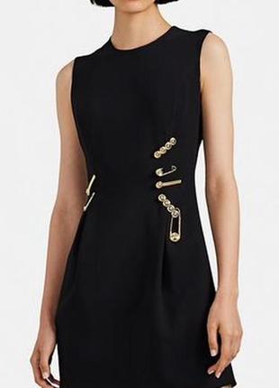 & other stories черное платье по фигуре обтягивающее базовое стильное элегантное