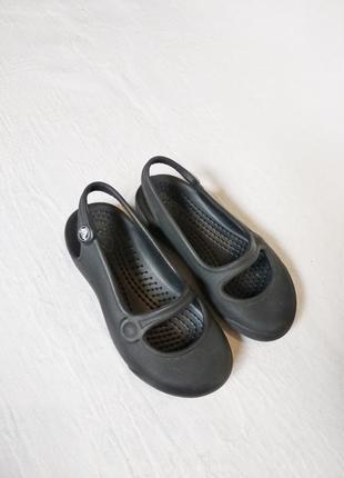 Балетки сандалики кроксы crocs c7 стелька 14,5 см