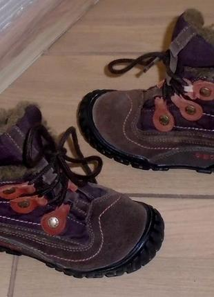 Geox зимние термо ботинки 27 р