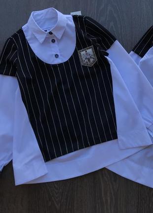 Блуза обманка