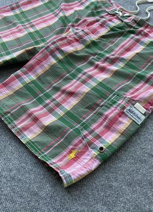 Красивые, легкие шорты в клетку polo by ralph lauren