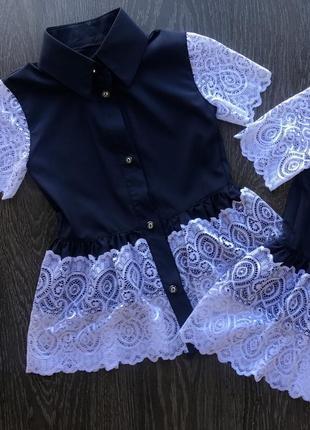 Красивейшая блуза для девочки