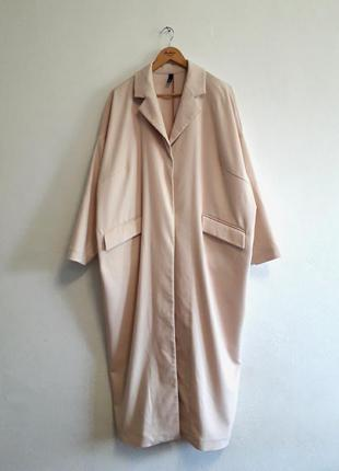 Оверсайз пальто без подкладки manon baptiste