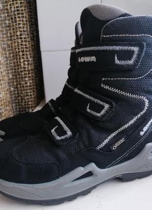 Фирменныетермо ботинки lowa, gore-tex 33р.оригинал