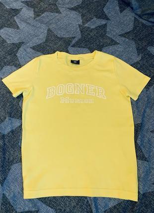 Базовая футболка оверсайз bogner оригинал
