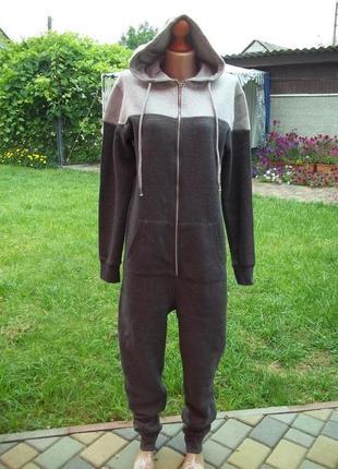( s - 46 р) boohoo байковый комбинезон пижама кигуруми кігурумі оригинал
