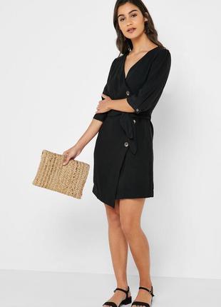 Офисное платье mango в деловом стиле платье на пуговицах рубашка платье zara