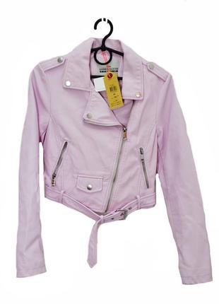 Подростковая  куртка косуха tally weill .код 3203