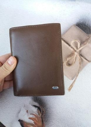 Мужской кожаный кошелек dr.bond  чоловічий гаманець кошелек мужской