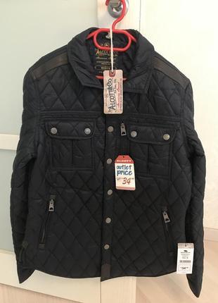 Демисезонная тёмно-синяя куртка alcott