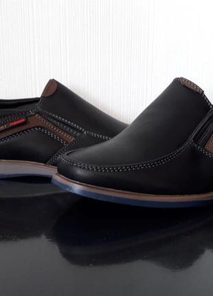 Туфли детские чёрные