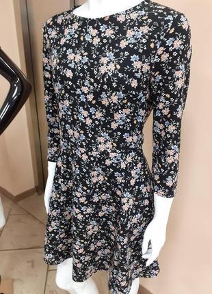 Красивое платье в цветок