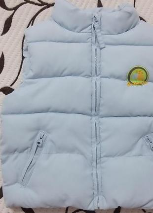 Жилетка (деми) на ребенка 1 года, фирмы zara baby