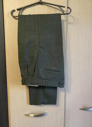Тёплые мужские классические брюки