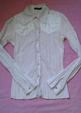 Белая рубашка s