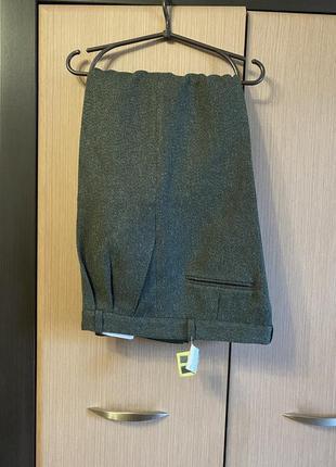 Тёплые классические мужские брюки