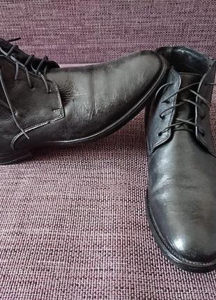 Ботинки кожаные lasocki , польша, 27,5 см