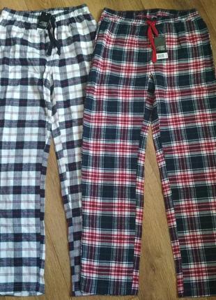 Отличные мягкие фланелевые пижамные штаны esmara, р.xs, есть замеры