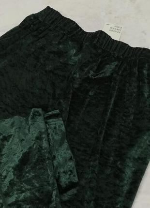 Велюровые брюки от h&m  pn1847025 h&m