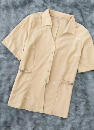 Блуза кофточка на пуговицах