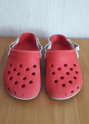 Аквашузы красные crocs кроксы для вашего малыша.