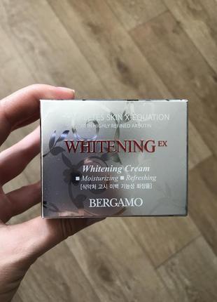 Отбеливающий крем для лица bergamo ex whitening cream