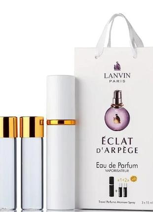 Набор парфюм с феромонами lanvin eclat 45 мл