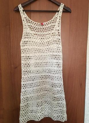 Платье майка сетка