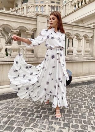 Раскошное платье