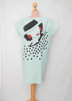 Винтаж спортивное удобное винтажное платье миди мятное мята