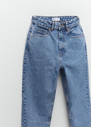 Крутые джинсы zara mom fit 💞новая коллекция 46 европейский