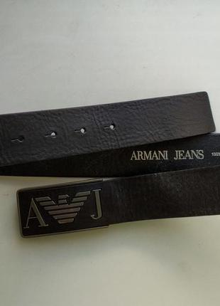 Кожаный ремень armani jeans