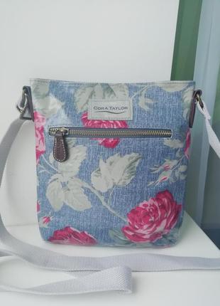 Нова фірмова англійська сумка кросбоді cora taylor!!! оригінал!!!