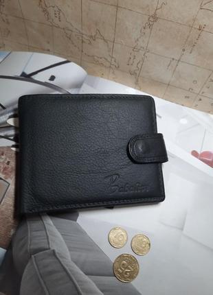 Мужской кошелек портмоне  из свиной кожи  новые