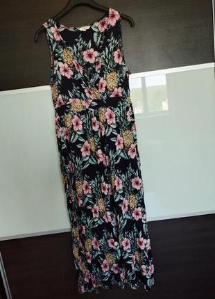 Женственное платье макси сарафан fat face
