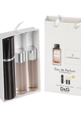 Набор парфюм с феромонами dolce & gabbana 3 l'imperatrice 45 мл