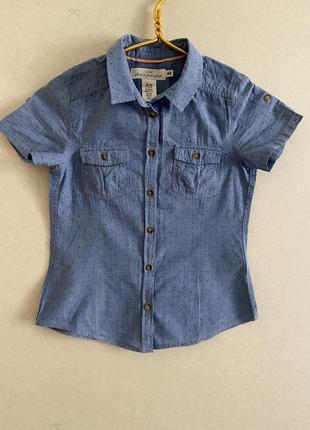 Рубашка джинсовая рубашка