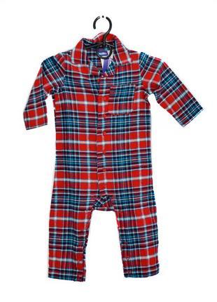 Детская мальчиковая пижама человечек lupilu. код 3198.